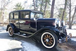 1928 Nash Sedan Model #330 Photo