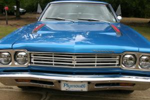 '69 Roadrunner - Numbers Matching / B-5 Blue / High Performance 383 Magnum