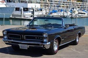 GTO convertible tribute, 4 speed, A/C, power steering and brakes, superb example