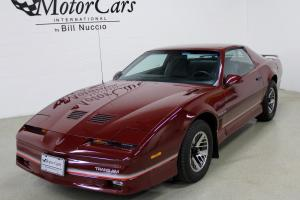 1985 Pontiac Firebird Trans AM - Burgundy/ Gray - Only 45K Miles!!  New Tires!!