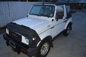 SUPER CLEAN ALL ORIGINAL 1988.5 SUZUKI SAMURAI JX - MUST SEE!!!!! Photo