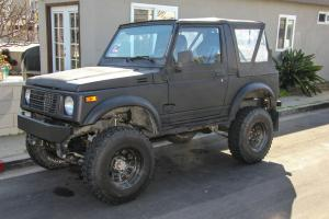 1986 Suzuki Samurai 1.6l EFI 4x4 off road rock crawler offroad 4wd trail rig