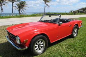1973 TRIUMPH TR6 ROADSTER COMPLETELY RESTORED INSIDE & OUT! 48K  ORIGINAL MILES!