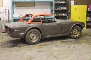 1971TRIUMPH TR6 CONVERTIBLE 4-SPEED WITH HARDTOP