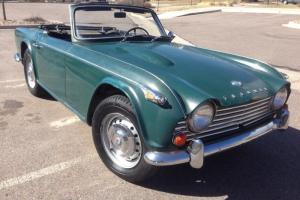 1967 Triumph TR4, perfect restoration project or drive as is, runs and drives!! Photo