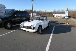 1967 Triumph TR4A White BEAUTIFUL CAR!