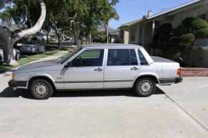 1985 Volvo 740 GLE Sedan 4-Door 2.3L