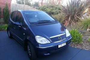 Mercedes Benz A160 LWB Elegance 2002 5D Hatchback 5 SP Sequential Automatic in Pakenham, VIC