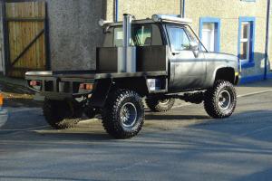 monster truck chevy v8 diesel rebuilt 2012 p/x for land rover 4x4