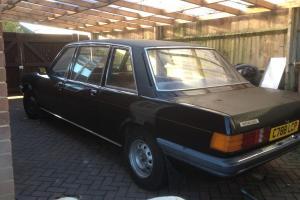 1986 FORD GRANADA AUTO BLACK