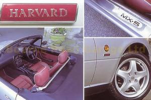 MAZDA MX5 MK1 Harvard 1 of 500