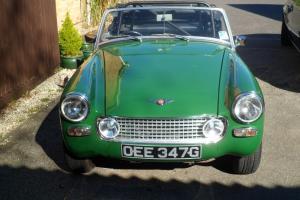 1969 AUSTIN HEALEY SPRITE 1275cc 26380 genuine mileage Years MOT Historic