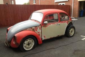Volkswagen Beetle 1975 1300cc project spares or repair Photo