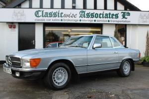 1984 MERCEDES R107 280 SL AUTO BLUE