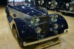 1938 Alvis 4.3 Litre Drophead Coupé. New paint/Leather. Photo