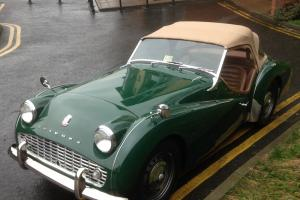1960 TRIUMPH TR3a SUPERB CONDITION LOOKS, DRIVES FANTASTIC FASTIDIOUS MAINTAINED