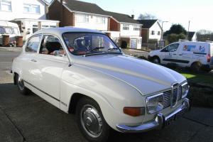 1971 SAAB 96 V4, tax exempt, 10 months M.O.T., low mileage, classic car.