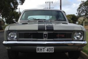 Silver Mink HT Holden Monaro Drag CAR Show CAR