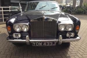 Elegant Dark Blue Rolls Royce Mulliner Park Ward