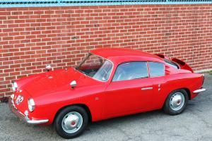 1960 Fiat Abarth 750GT Zagato Sestriere w Aluminum Body, Longtime California Car