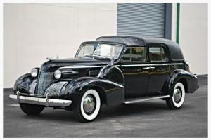 1 OF 13 1939 SERIES 75 TOWN CAR LIMO NUT AND BOLT RESTORATION CADILLAC LIMOUSINE