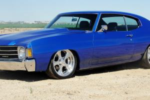 1972 Pro Touring Chevelle 454 SS 700 R4 Show Quality Foose Wheels Shock Waves