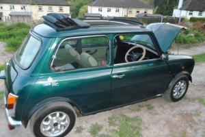 1993 ROVER MINI BRITISH OPEN CLASSIC GREEN VERY LOW MILES  Photo