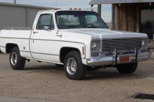 1976 Chevorlet silverado original,one owner,454,SWB,white,2WD,low miles,streight