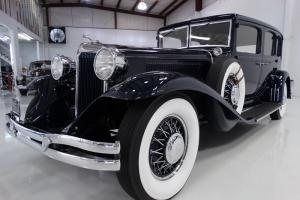 1931 CHRYSLER IMPERIAL CUSTOM 8 SEDAN, 50,242 ACTUAL DOCUMENTED MILES!