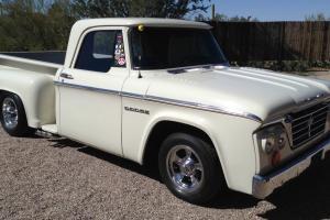 1966 Dodge D 100 Short Bed Stepside Pickup Truck