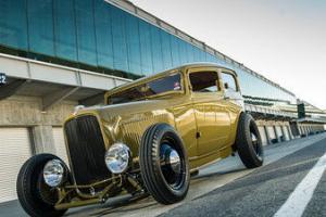 1932 Ford, Tudor, Sedan, Hot Rod