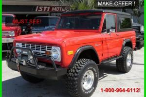 1975 FORD BRONCO 4X4 REPLICA OF ENTOURAGE BRONCO! 302 / AUTO! POWER STEERING !