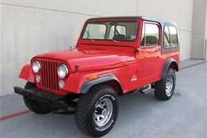 1977 Jeep CJ7 Very Clean, Not a Rusted Out CJ!!!