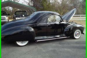 1940 LINCOLN Zephyr 3 Window Coupe 350 Gasoline 350 Automatic Leather New Paint
