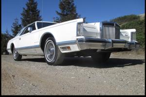 Exceptional Classic 1979 Lincoln Continental Mark V! Calif. Car ONLY 8,800 Miles