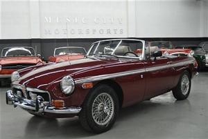 Strong Restored Rustfree Chrome bumper MGB Roadster