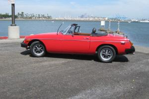 1979 MGB Roadster, head turning classic, runs and drives great, no rust  - sweet