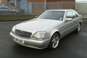 1998 Mercedes CL500 v8 silver, mint condition low mileage classic 1 owner