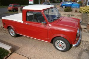 Austin morris mini pick up 1979 1300cc full mot Photo