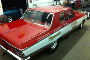 1964 Plymouth Savoy Base 7.0L Super Stock Drag Car With Aluminum Front End