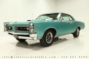 1966 Pontiac GTO Coupe - Fully Restored, 389 CI V8 w/ Tri-Power & M20 4-Speed