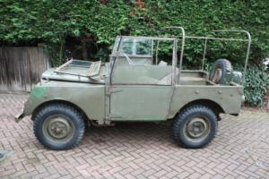 "Land Rover Series 1 Minerva 80"" Ex Army 1953"