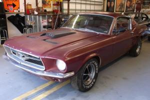 1967 Mustang Fastback BB 390 S code 4 spd Shelby GT500 Eleanor Bullit Race Rod