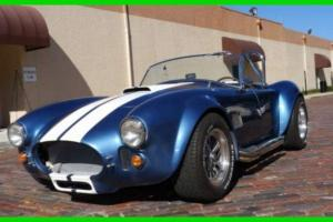 1965 Shelby Cobra Roadster RWD Coupe Replica 347CI Stroker V8 Manual RWD FLORIDA Photo
