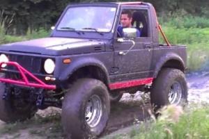 Suzuki Samurai Fully Street Legal Rock Crawler Jeep