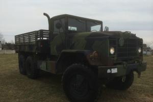 1991 BMY M923A2 6X6 5 Ton Cargo Truck - Hard Top - 18,983 miles