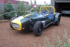 Lotus 7 Clubman Cams LOG Booked in Cressy, TAS