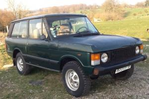 Range Rover Classic 3.5 V8 1978 LHD with very low 45k miles, French reg.