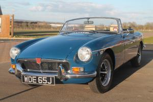 MGB Roadster 2013 Nut&Bolt restoration 2 owners