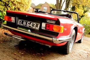 Triumph TR6 classic car